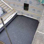 Example of a epdm rubber roof