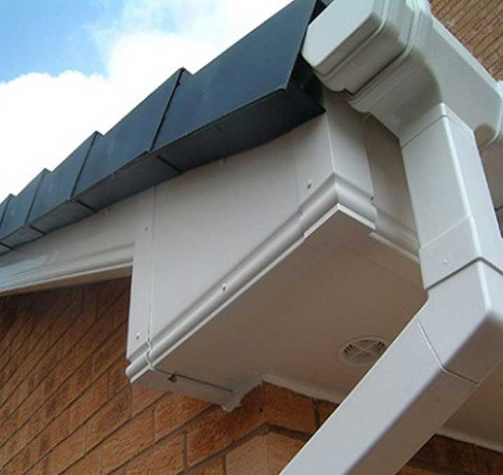 Upvc Fascias And Soffits In Leeds Amp Bradford Flat Roof