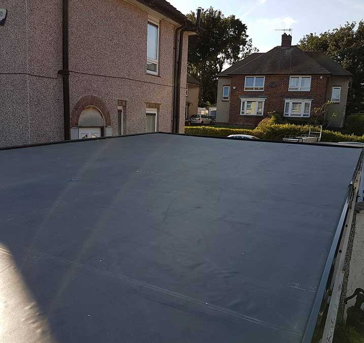 Epdm Rubber Roofing Solutions In Leeds Flat Roof Experts